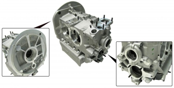 Motorgehäuse 69mm Kurbelwelle Standard Bild 1