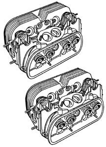 Zylinderkopf EMPI GTV-2 Big Bore 98mm Bild 1