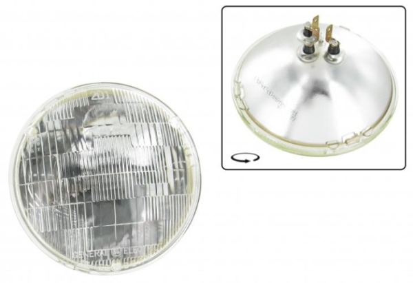 Scheinwerfer Sealed-Beam 12V 60-50W Bild 1
