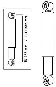 Hydraulische Stoßdämpfer vorne / hinten Bild 1