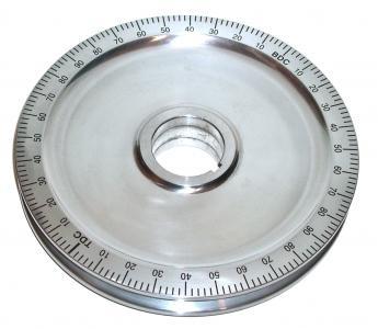 Riemenscheibe Standard Aluminium schwarz Bild 1