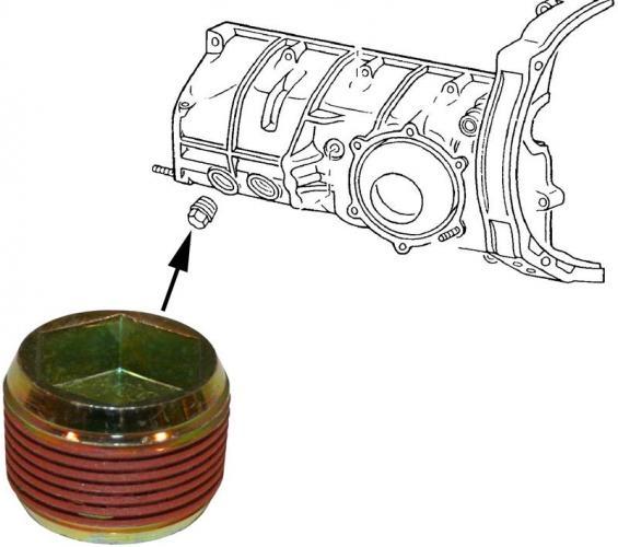 Verschlussschraube Getriebeölnachfüllung