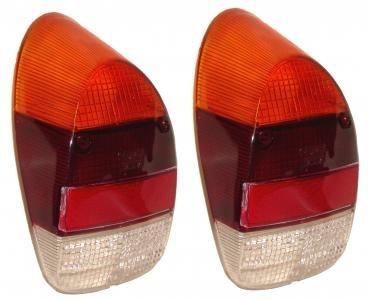 Glas Rücklicht orange / rot / klar B-Qualität Bild 1