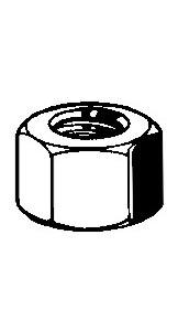 Mutter Zylinderkopf 10mm Bild 1