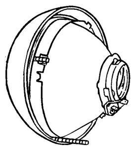 Scheinwerfer A-Qualität von Hella Bild 1