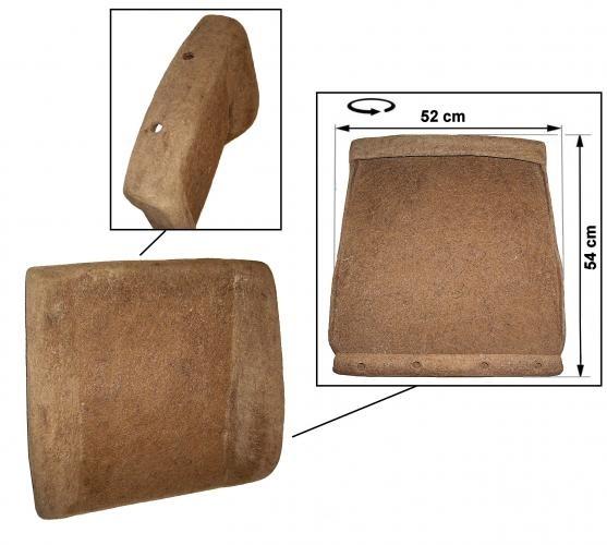 Polsterung Rückenlehne vorne ohne / verstellbare Kopfstütze Bild 1
