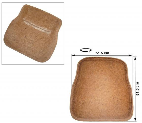 Sitzpolster vorne Rosshaar Bild 1