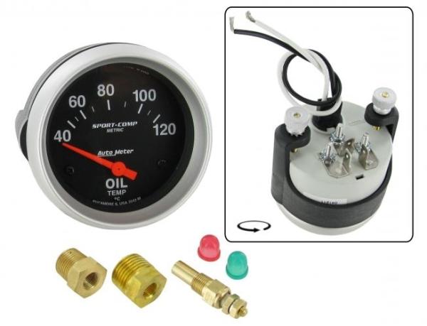 Öltemperaturanzeige mit Sensor 67mm Bild 1