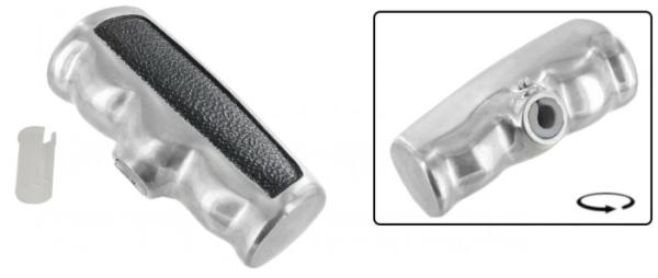 Schaltknauf T-Griff Aluminium Bild 1
