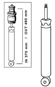 Hydraulische Stoßdämpfer vorne Bild 1