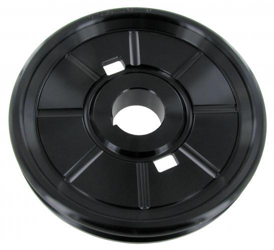 Riemenscheibe 177mm Aluminium schwarz