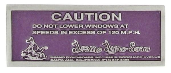 Abzeichen Armaturenbrett DDS Fenster Warnung Bild 1