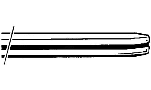 Stoßstange Hinten Chrom B-Qualität Bild 1
