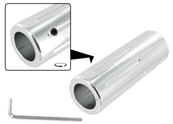 Handbremsgriff Abdeckung Aluminium Bild 1