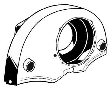 Lüfterhaube mit Heizverbindung schwarz Bild 1