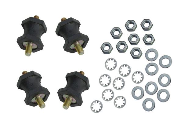 Gummilager Ölkühler Montage