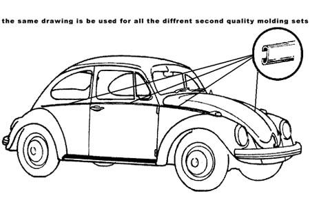 Zierleisten Set Aluminium 8/67»7/72 B-Qualität Bild 1