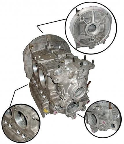 Motorgehäuse Standard VW OEM Bild 1