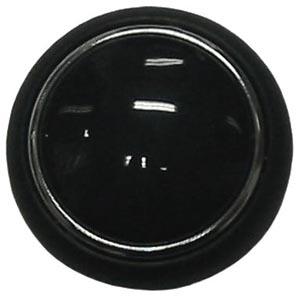 Hupenknopf schwarz Bild 1