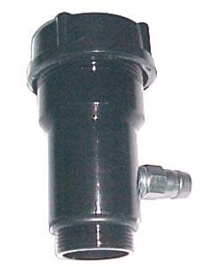 Öleinfüllstutzen belüftet schwarz Bild 1