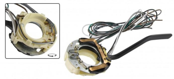 Blinkerschalter A-Qualität schwarz Bild 1