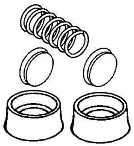 Reparatursatz Radbremszylinder Bild 1
