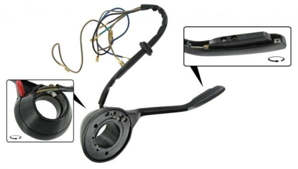 Blinkerschalter schwarz Bild 1