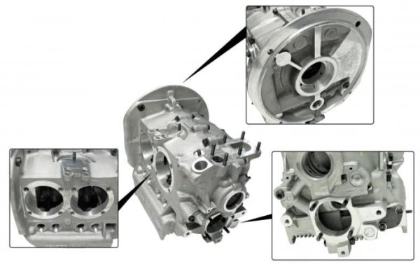 Motorgehäuse 82mm Kurbelwelle / 96mm Zylinderbohrung Bild 1
