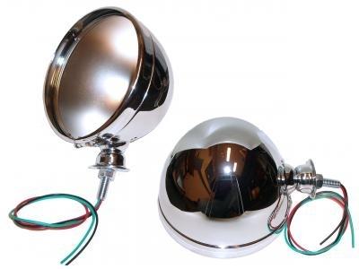 Lampentopf - Scheinwerfergehäuse Buggy Chrom Bild 1