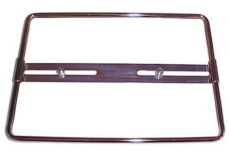 Kennzeichenhalter Chrom hinten 27.5x19.5cm Bild 1