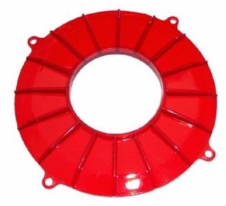 Lichtmaschinendeckel rot Bild 1