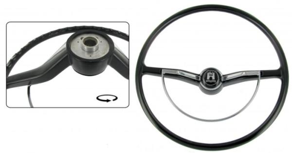 Lenkrad Standard schwarz Bild 1