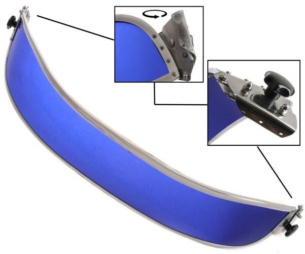 Sonnenblende Frontscheibe blau 1303 Bild 1