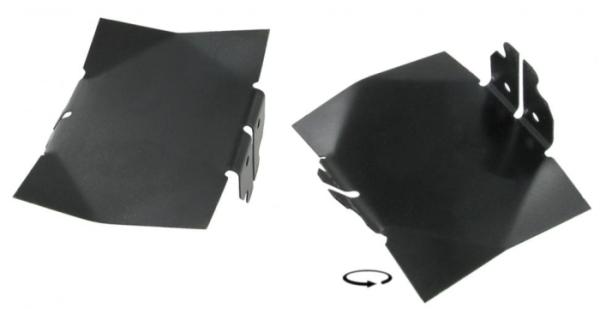 Reflektorblech Kühlungsluft 10mm Bild 1