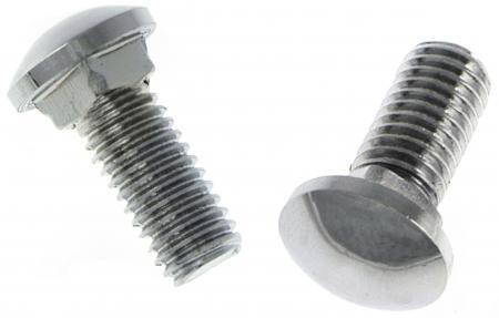 Schrauben Stoßstangen M8x20 Chrom Edelstahl Bild 1