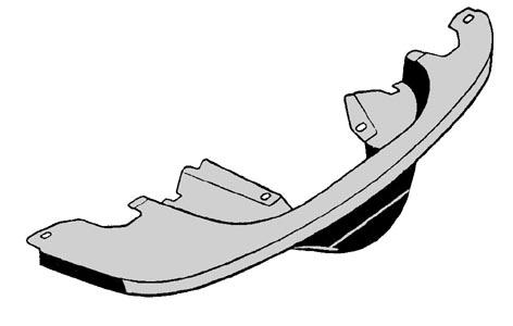 Motorblech hinten Chrom Bild 1