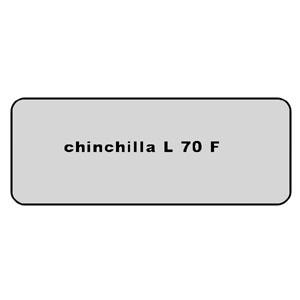Farb-Code Aufkleber L 70F chinchilla Bild 1