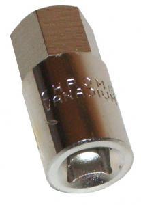Aufsatz Inbus 17mm - 3/8 Zoll Anschluss Ölmutter Getriebe Bild 1