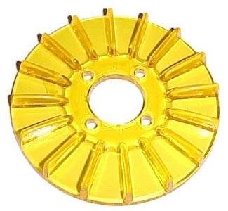 Lichtmaschinendeckel gelb Bild 1