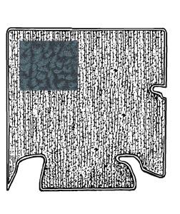 Kofferraumteppich Set schwarz Bild 1