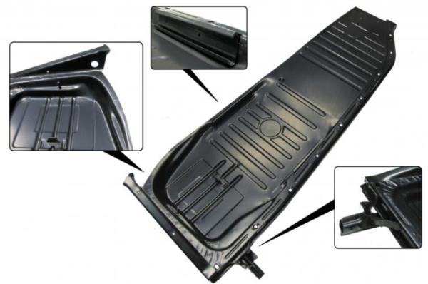 Komplette Bodenplatte rechts B-Qualität mit Sitzaufnahme Bild 1