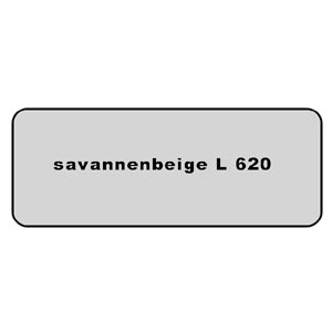 Farb-Code Aufkleber L 620 savannenbeige Bild 1