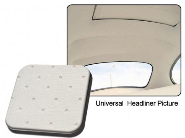 Dachhimmel weiß Vinyl perforiert / mit Schiebedach Bild 1