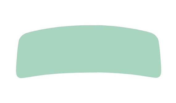 Windschutzscheibe / Frontscheibe grün Cabrio