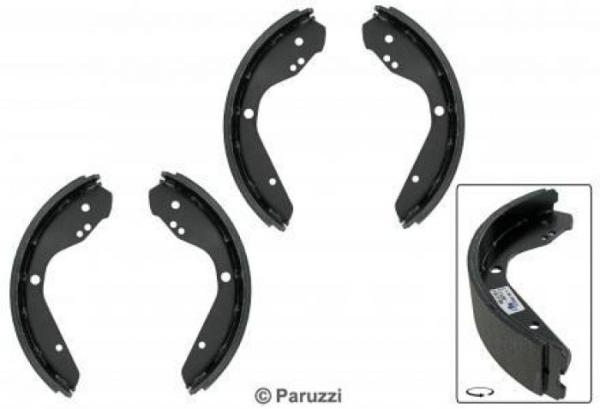 Bremsbacken A-Qualität vorne 1302 / 1303 Bild 1
