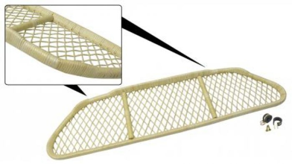 Gepäckhalter Cabrio Bambus Bild 1