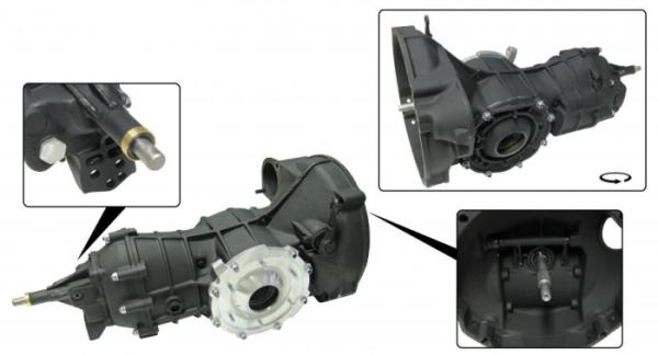 Pro Street Getriebe Pendelachse verstärkt 8.31 Bild 1