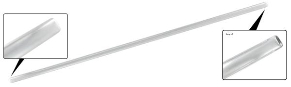 Zierleiste Trittbrett 33mm Aluminium