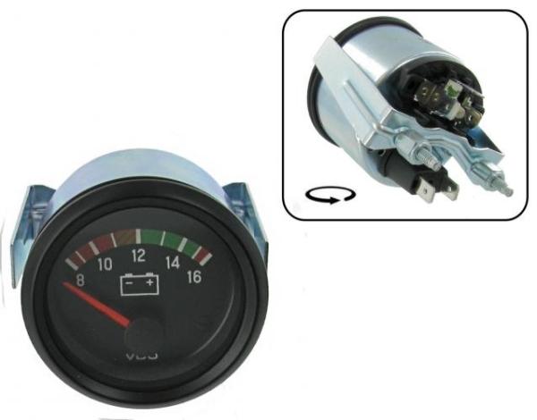 Voltmeter 52mm VDO Bild 1