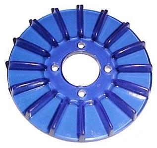 Lichtmaschinendeckel blau Bild 1